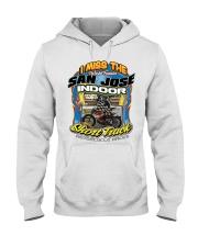 I MISS SAN JOSE INDOOR FRONT MAURY AUSTIN Hooded Sweatshirt thumbnail