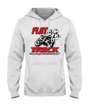 FLAT TRACK Anyone can ride motocross Hooded Sweatshirt thumbnail