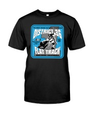 D-36 FLAT TRACK DISTRICT OF CHAMPIONS EKLUND Classic T-Shirt front