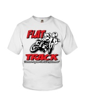 FLAT TRACK ANYONE CAN RIDE MX PARKER Youth T-Shirt thumbnail