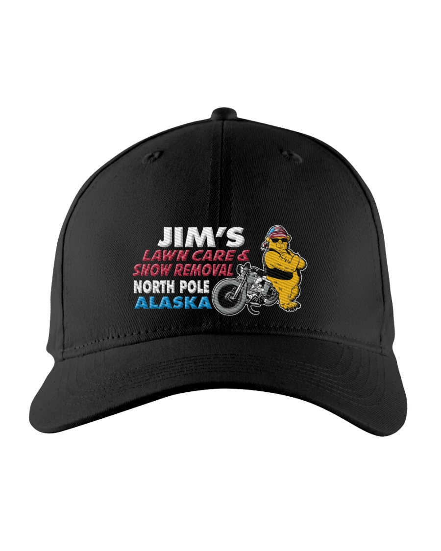 JIMS LAWN AND SNOW ALASKA HAT Embroidered Hat