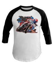 BUBBA FLATTRACK GEAR and decor Baseball Tee thumbnail
