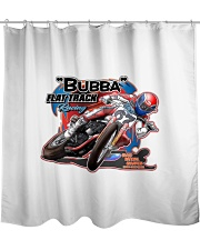 BUBBA FLATTRACK GEAR and decor Shower Curtain thumbnail