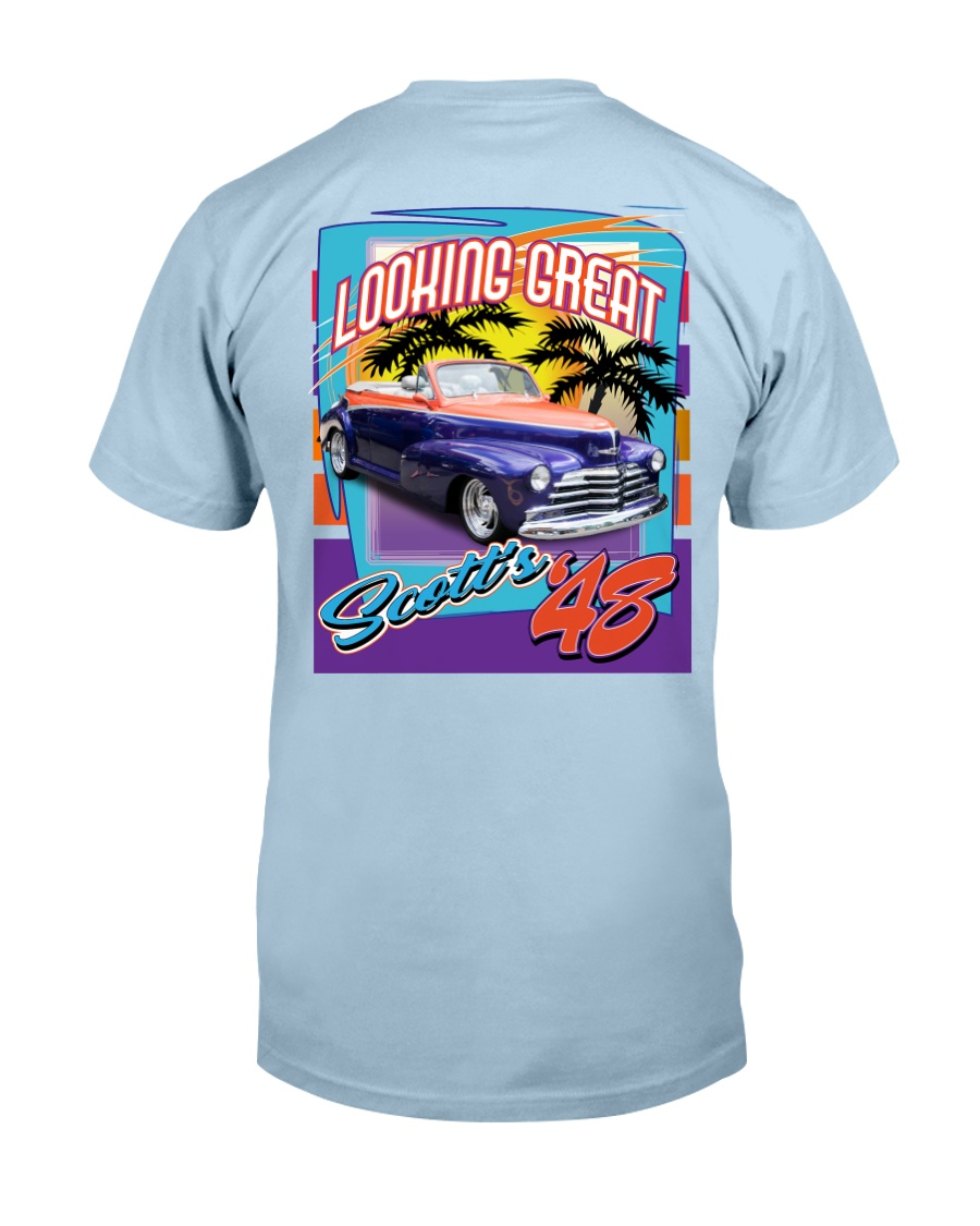 SCOTTS 1948 CHEVY CONVERTIBLE Classic T-Shirt