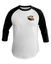 SCOTTS 1948 CHEVY CONVERTIBLE Baseball Tee thumbnail