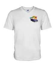 SCOTTS 1948 CHEVY CONVERTIBLE V-Neck T-Shirt thumbnail