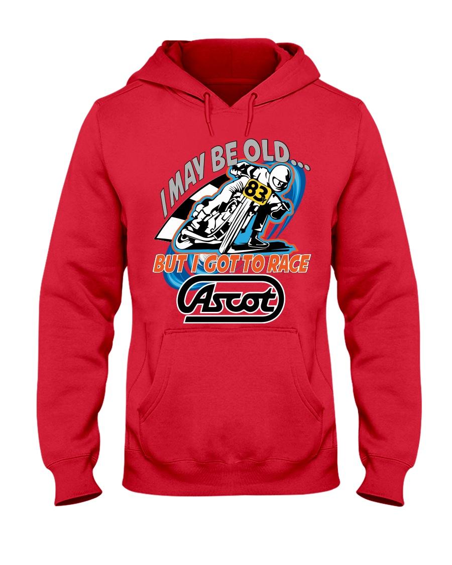 CLIFF SERVETTI 83Y RACED ASCOT Hooded Sweatshirt