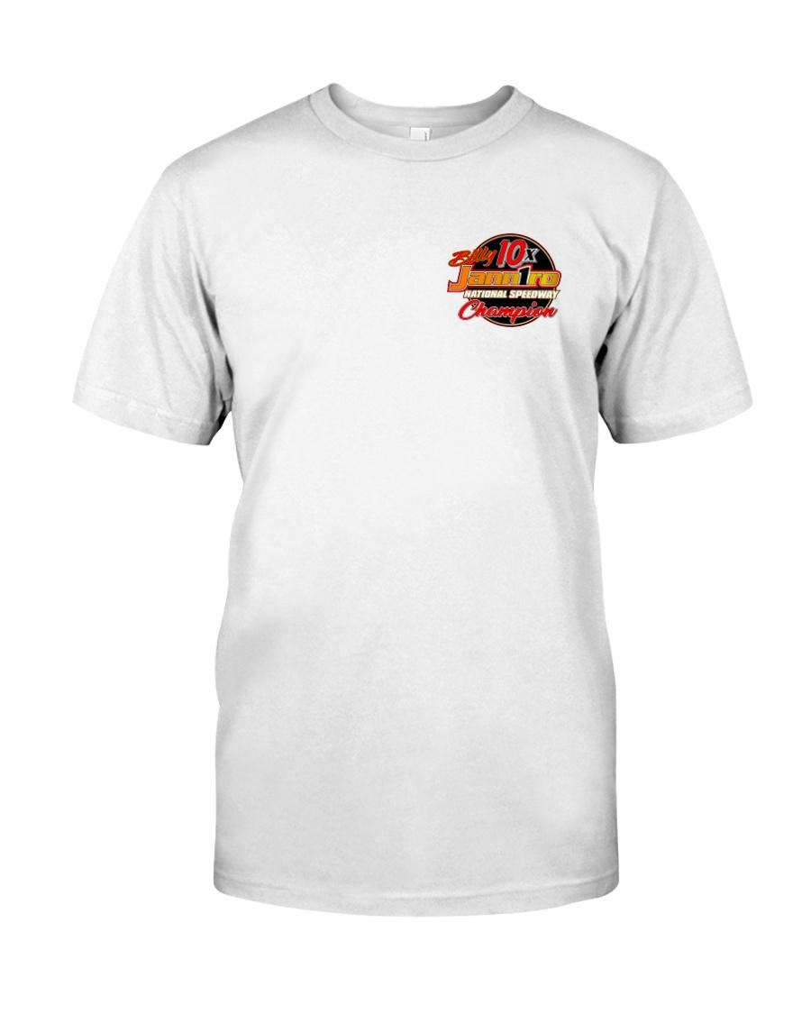 BILLY JANNIRO 10x SPEEDWAY FRT n BAK Classic T-Shirt