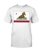 SPEEDWAY CALIFORNIA REPUBLIC  Classic T-Shirt front