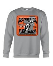 D-36 FLAT TRACK DISTRICT OF CHAMPIONS BRELSFORD Crewneck Sweatshirt thumbnail