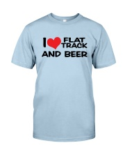 I LOVE FLAT TRACK AND BREW Classic T-Shirt thumbnail