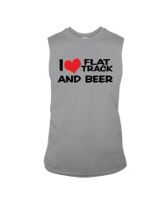 I LOVE FLAT TRACK AND BREW Sleeveless Tee thumbnail