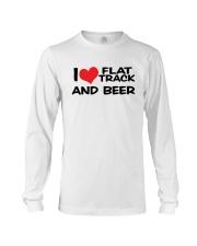 I LOVE FLAT TRACK AND BREW Long Sleeve Tee thumbnail
