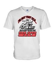 NOT OLD SAW SAN JOSE MILE H SCOTT V-Neck T-Shirt thumbnail