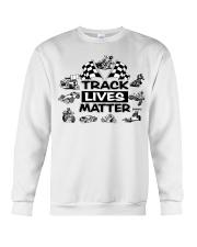 TRACK LIVES MATTER Crewneck Sweatshirt thumbnail