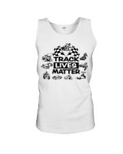 TRACK LIVES MATTER Unisex Tank thumbnail