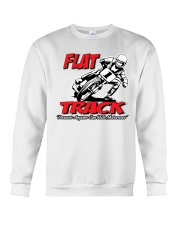 FLAT TRACK BECAUSE ANYONE CAN RIDE MX Crewneck Sweatshirt tile