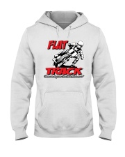 FLAT TRACK BECAUSE ANYONE CAN RIDE MX Hooded Sweatshirt thumbnail