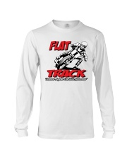 FLAT TRACK BECAUSE ANYONE CAN RIDE MX Long Sleeve Tee thumbnail