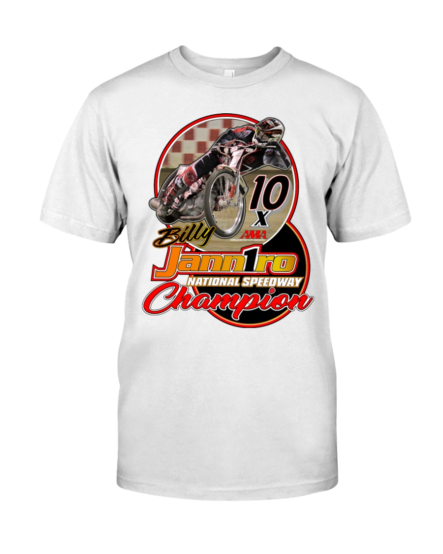 BILLY JANNIRO 10 X SPEEDWAY CHAMP Classic T-Shirt