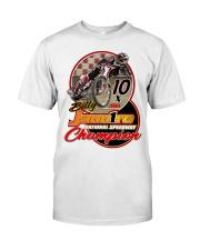 BILLY JANNIRO 10 X SPEEDWAY CHAMP Classic T-Shirt front
