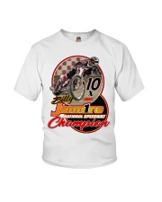 BILLY JANNIRO 10 X SPEEDWAY CHAMP Youth T-Shirt thumbnail