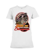 BILLY JANNIRO 10 X SPEEDWAY CHAMP Premium Fit Ladies Tee thumbnail