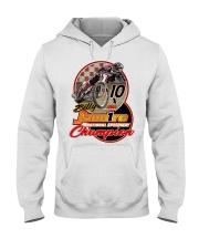 BILLY JANNIRO 10 X SPEEDWAY CHAMP Hooded Sweatshirt thumbnail