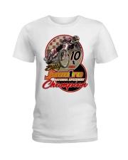 BILLY JANNIRO 10 X SPEEDWAY CHAMP Ladies T-Shirt thumbnail