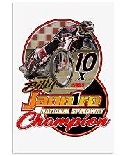BILLY JANNIRO 10 X SPEEDWAY CHAMP 11x17 Poster thumbnail