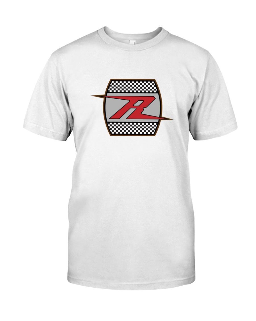 H-D R Checker Lightning design Classic T-Shirt