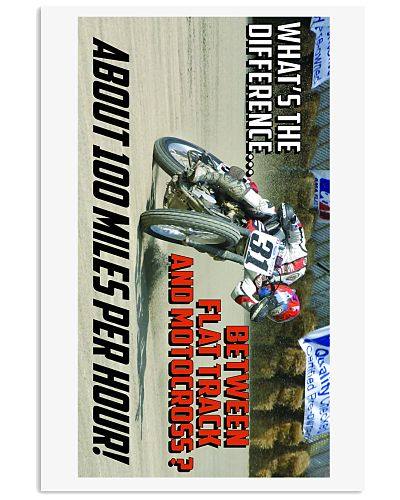 DIFFERENCE BETWEEN FLATTRACK AND MX