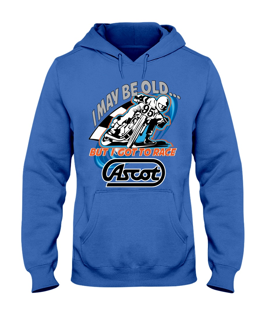 ADAM JAMES 95Y RACED ASCOT Hooded Sweatshirt