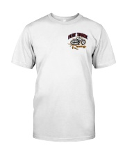 FLAT TRACK Anyone one can ride MX  front n back Classic T-Shirt tile