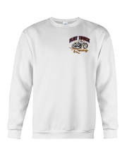 FLAT TRACK Anyone one can ride MX  front n back Crewneck Sweatshirt thumbnail