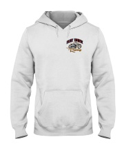 FLAT TRACK Anyone one can ride MX  front n back Hooded Sweatshirt tile