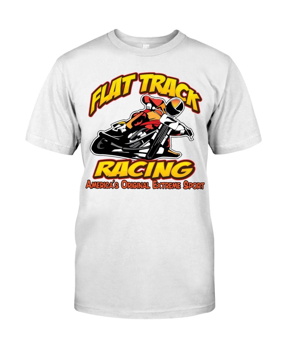 FLAT TRACK Americas Original Extreme Sport Classic T-Shirt