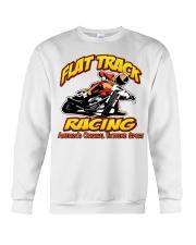 FLAT TRACK Americas Original Extreme Sport Crewneck Sweatshirt thumbnail