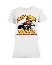 FLAT TRACK Americas Original Extreme Sport Premium Fit Ladies Tee thumbnail