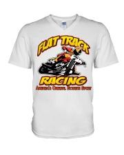 FLAT TRACK Americas Original Extreme Sport V-Neck T-Shirt thumbnail