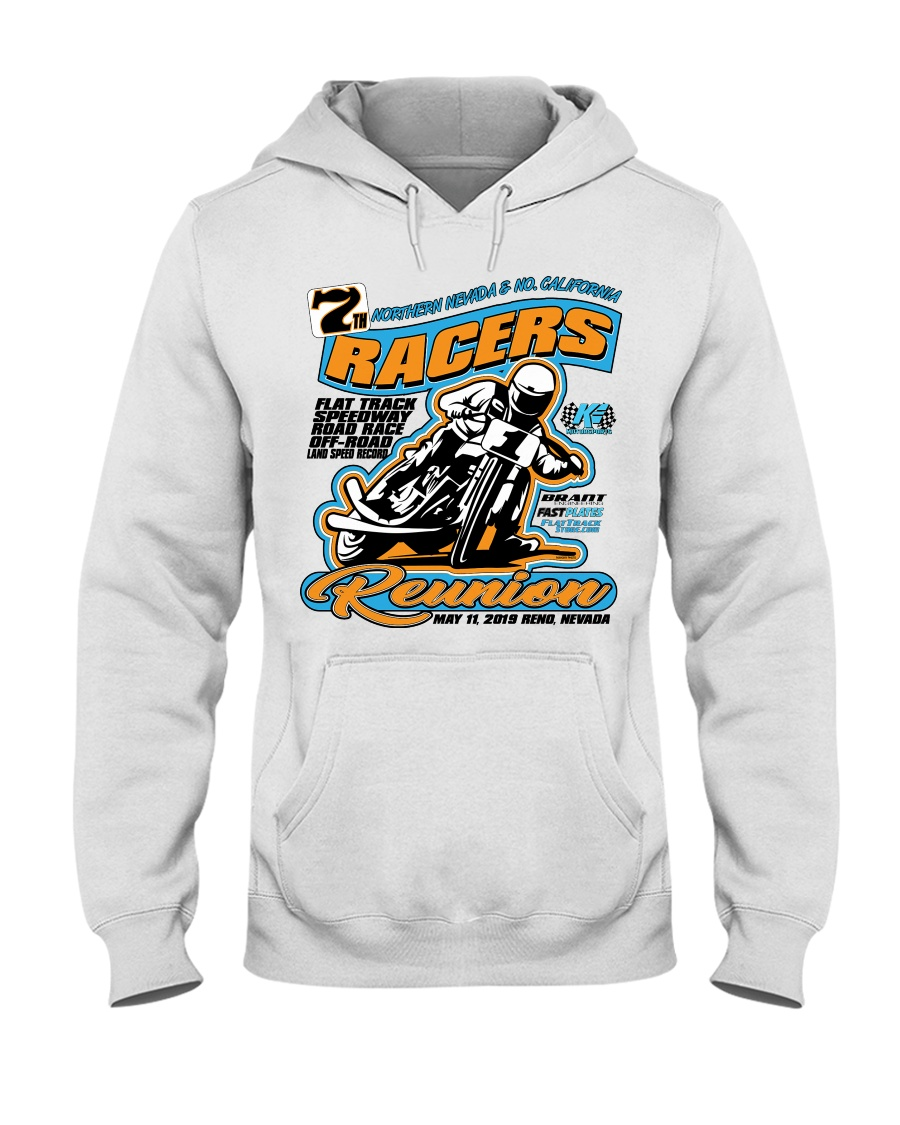 RACER REUNION 2019 RENO NV Hooded Sweatshirt