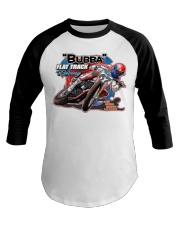 BUBBA FLAT TRACK REVISED Baseball Tee thumbnail