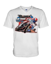 BUBBA FLAT TRACK REVISED V-Neck T-Shirt tile