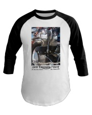 Up Close and Personal by Chuck Lane Baseball Tee thumbnail