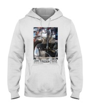 Up Close and Personal by Chuck Lane Hooded Sweatshirt thumbnail