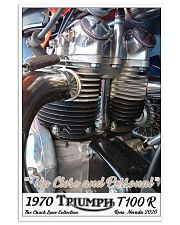 Up Close and Personal by Chuck Lane Vertical Poster tile