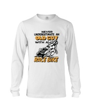 OLD GUYS WITH RACE BIKES-REVISED Long Sleeve Tee thumbnail