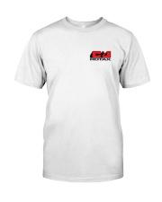 C AND J APPAREL Red Logo Premium Fit Mens Tee thumbnail