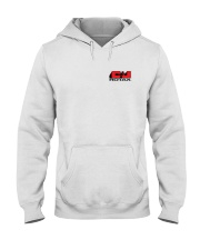 C AND J APPAREL Red Logo Hooded Sweatshirt thumbnail