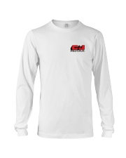 C AND J APPAREL Red Logo Long Sleeve Tee thumbnail